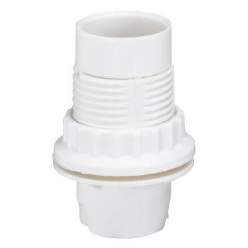 Dulie Bec Douille Plast-E14 Blanc-Plus-Bague Legrand 091123