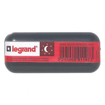Intrerupator Pe Fir Inter 2A Fluo Noir Pour Lampe Legrand 091197