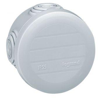 Legrand Plexo Doze Cu Protectie La Apa Doza Plexo Ip55-Ik07 Rotunda Diam-60 X40 Gri Pt Tub D-4-20 650Gr-C Legrand 092001
