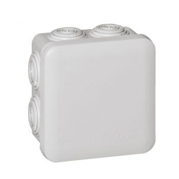Legrand Plexo Doze Cu Protectie La Apa Doza Plexo Ip55-Ik07 D-80X80X45Mm Gri Pt Tub D-4-20 650Gr-C Legrand 092012