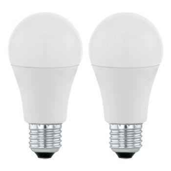 Becuri LED Bec Led E27 A60 1055Lm 3000K  Set 2Buc- Eglo 11484