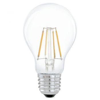 Becuri LED Bec Led E27 A60 4W 2700K Eglo 11491