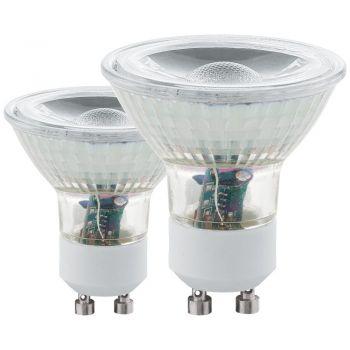 Becuri LED Bec Led Cob Gu10 5W 4000K  Set 2 Buc- Eglo 11526