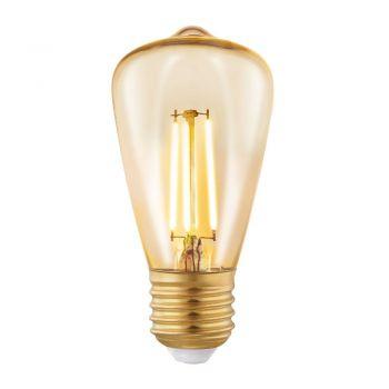 Becuri LED Bec Led E27  St48  3-5W  Chihlimbar 2200 Eglo 11553