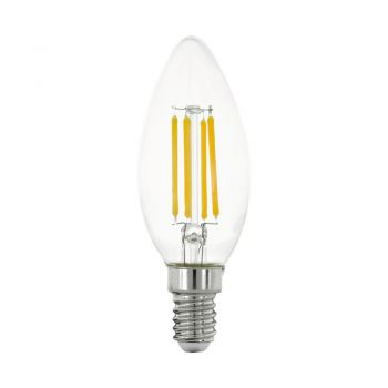 Bec EGLO 11759 - LED E14 4W 470lm 2700K D35mm - Lumina calda