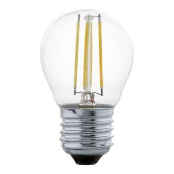Bec EGLO 11762 - LED E27 4W 470lm 2700K D45mm - Lumina calda