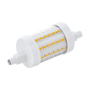 Becuri LED Lm-R7S-Led L-78Mm 8W 2700K Dimmb- 1 Stk Eglo 11832