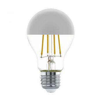 Becuri LED Lm-E27-Led A60 7W 2700K Chrom 1 Stk Eglo 11834