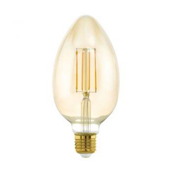 Becuri LED Lm-E27-Led B80 4W Amber 2200K 1 Stk Eglo 11836