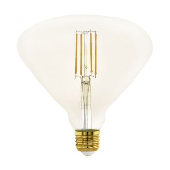 Bec dimabil EGLO 11837 - LED E27 4W 380lm 2200K D150mm - Lumina calda - Chihlimbar