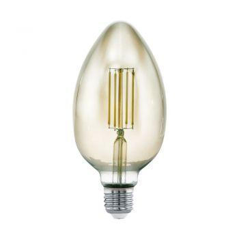 Bec dimabil EGLO 11839 - LED E27 4W 360lm 3000K D80mm - Lumina calda