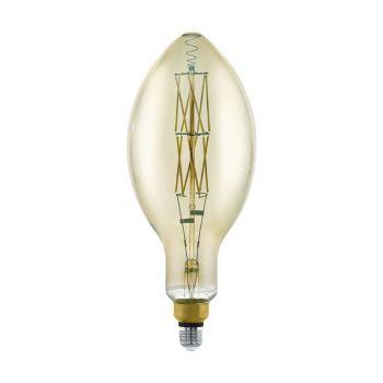 Becuri LED Lm-E27-Led E140 8W Smoky 3000K 1 Stk Eglo 11843