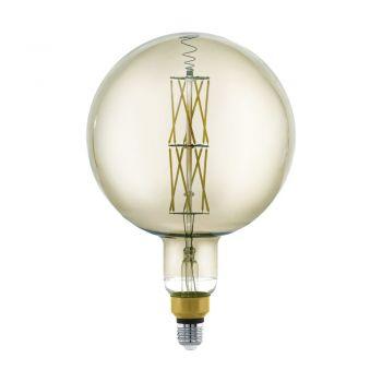 Bec dimabil EGLO 11845 - LED E27 8W 600lm 3000K D200mm - Lumina calda