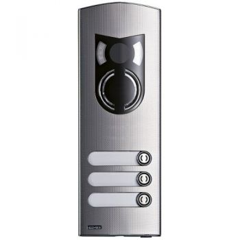 2M IK10 a-v steel cover Rama 3 buttons vimar ELVOX Door entry 1223