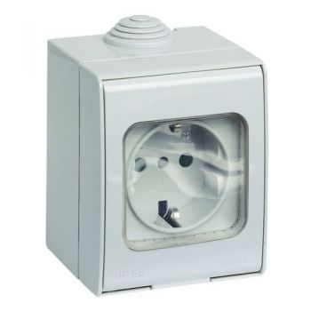 IP55 Priza 2P-plus-E 16A P30 outlet vimar Enclosures and mounting boxes 12331