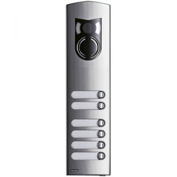 3M a-v steel cover Rama with 6 buttons vimar ELVOX Door entry 1236