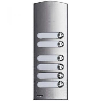 2M IK10 add steel cover Rama 6 buttons vimar ELVOX Door entry 1256