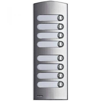 2M IK10 add steel cover Rama 8 buttons vimar ELVOX Door entry 1258