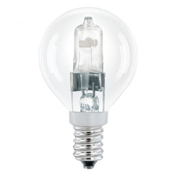 Bec dimabil EGLO 12796 - E14 halogen 28W 370lm 2700K D45mm - Lumina calda