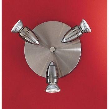Iluminat Sina Rondel-3 Gu10 Nickel-Matt-Chrom'Magnum' Eglo 13053