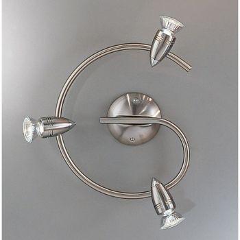 Iluminat Sina G-Form-3 Gu10 Nickel-Matt-Chrom 'Magnum' Eglo 13054