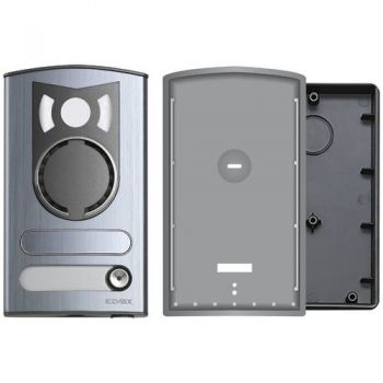 1-button a-v aluminium cover Rama vimar ELVOX Door entry 13K1