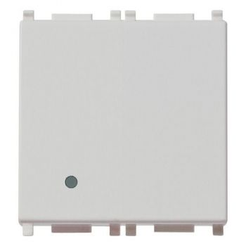 Intrerupator 1P 20AX 1-way switch 2M Silver vimar Plana Silver 14002-2-SL
