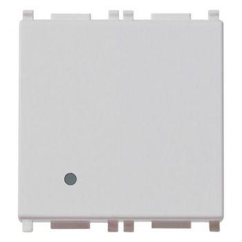 Intrerupator cap scara 1P 20AX switch 2M Silver vimar Plana Silver 14006-2-SL