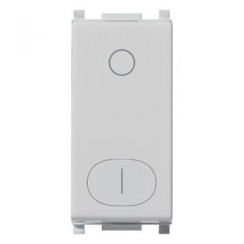 Intrerupator 2P 16AX 0-1 Silver vimar Plana Silver 14015-SL