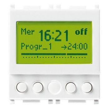 1-channel timer switch 120-230V white vimar Plana 14448