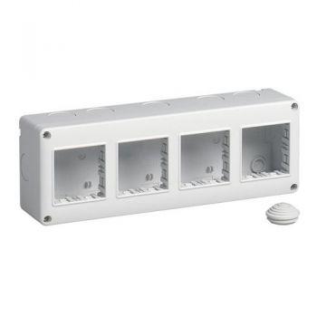 IP40 enclosure 8M 2x4 vimar Enclosures and mounting boxes 14814