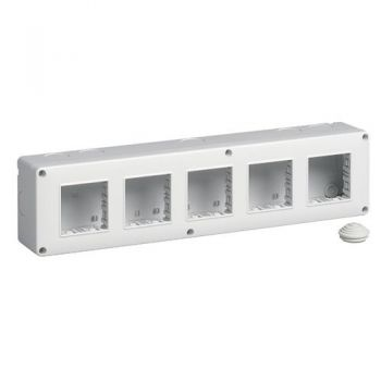 IP40 enclosure 10M 2x5 vimar Enclosures and mounting boxes 14815