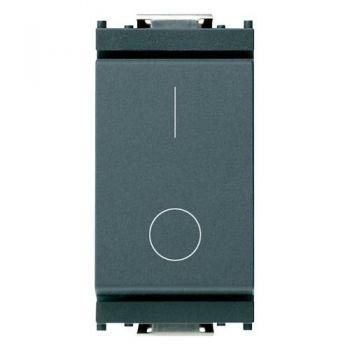 Intrerupator 2P 16AX 0-1 grey vimar Idea 16016