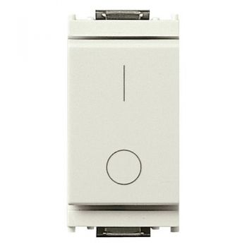 Intrerupator 2P 16AX 0-1 white vimar Idea 16016-B