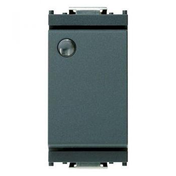 Intrerupator 1P 16AX luminous grey vimar Idea 16021
