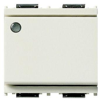 Intrerupator cap scara 1P 16AX luminous 2M white vimar Idea 16025-M-B