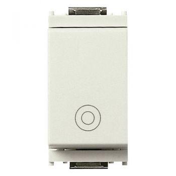 Buton 1P NO 10A push general symbol white vimar Idea 16080-B