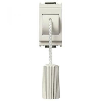 Buton cu snur 1P NC 10A cord-operated push white vimar Idea 16083-B