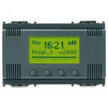 1-channel timer switch 120-230V grey vimar Idea 16582