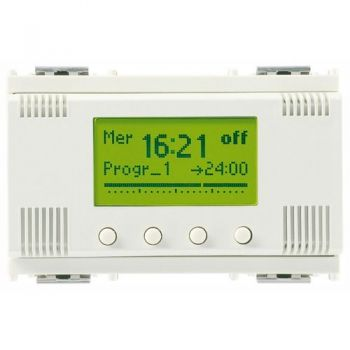 1-channel timer switch 120-230V white vimar Idea 16582-B