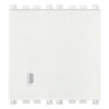 Intrerupator 1P 20AX 1-way switch 2M white Vimar Arke White 19002-2-B