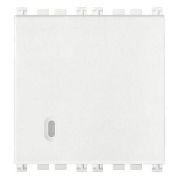 Intrerupator cap scara 1P 16AX 2M white Vimar Arke White 19005-2-B