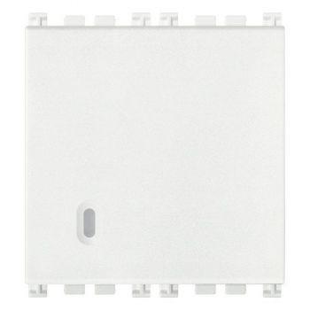 Intrerupator cap scara 1P 20AX switch 2M white Vimar Arke White 19006-2-B