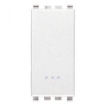 Intrerupator 1P 16AX white Vimar Eikon White 20001-B