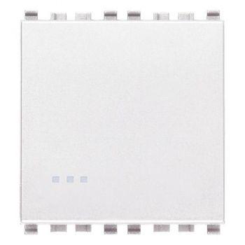 Intrerupator 1P 20AX 1-way switch 2M white Vimar Eikon White 20002-2-B