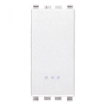 Intrerupator 1P 20AX 1-way switch white Vimar Eikon White 20002-B