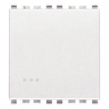 Intrerupator cap scara 1P 16AX 2M white Vimar Eikon White 20005-2-B