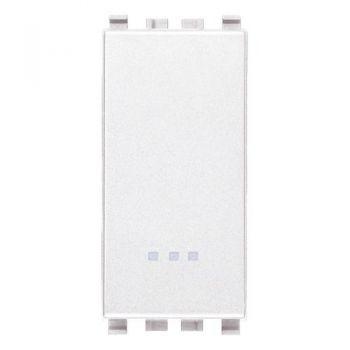 Intrerupator cap scara 1P 20AX switch white Vimar Eikon White 20006-B