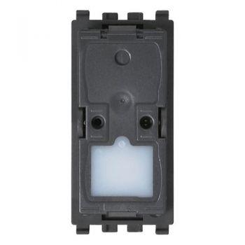 Buton cu revenire 1P NO 10A mechanism vimar Eikon 20008-0
