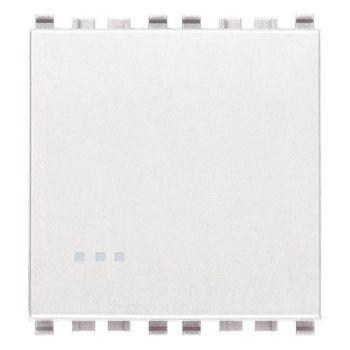Intrerupator cap cruce 1P 16AX 2M white Vimar Eikon White 20013-2-B